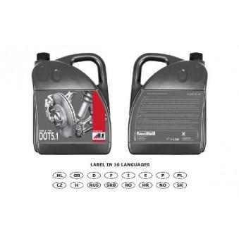 Liquide de frein DOT 5.1 - 5 Litres A.B.S. [7508] partauto.fr