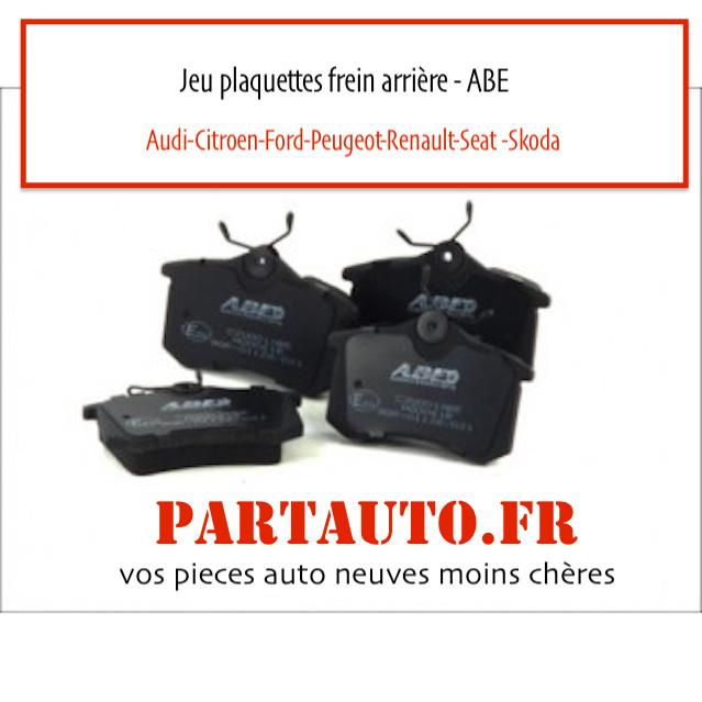 jeu plaquettes frein kit freinage ABE pas cher